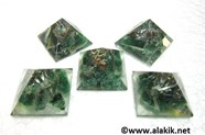 Picture of Baby Orgone Green Jade Pyramid