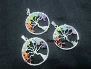 Picture of Chakra Tree of Life handmade pendant