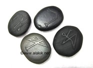 Picture of Black Obsidian Embossed Arch Angel Set