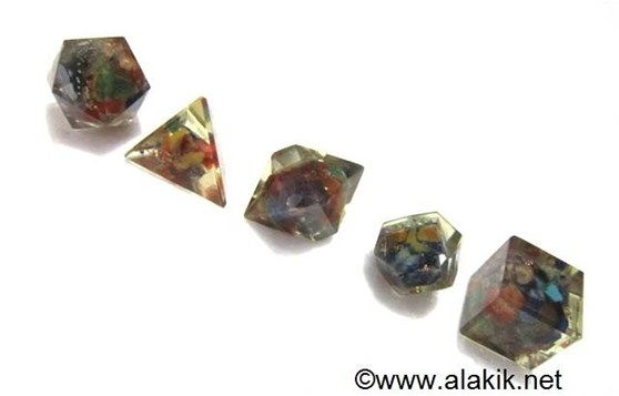 Picture of 7 Chakra Orgone Geometry Sets