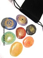 Picture of Thymus Chakra Set with Pouch