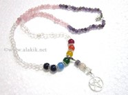 Picture of RAC Beads Chakra Penctacle Star Necklace