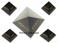 Picture of Black Agate  NEWS Pyramid