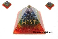 Picture of Chakra Orgone Layer NEWS Pyramid