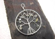 Picture of Citrine Tree of Life  Pendant
