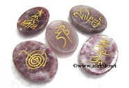Picture of Lepidolite 5ps Usai Worrystone Set