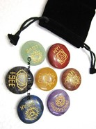 Picture of Chakra Emotion Disc Set with Pouch