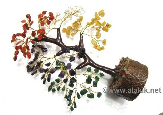 Picture of 5 Colour Gemstone Tree with Steam