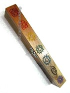 Picture of Engrave Chakra colourful 7 hole box