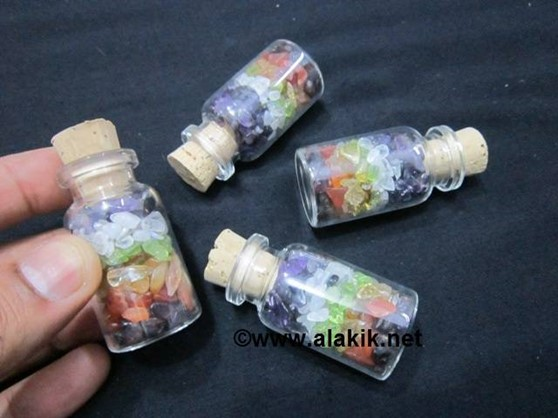 Picture of 7Chakra Layer Gemstone Bottle