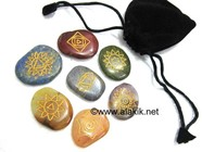 Picture of Simple Chakra set with Pouch
