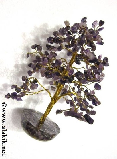 Picture of Amethyst 300bds tree with orgone base