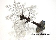 Picture of Crystal Tree with steam and orgone base
