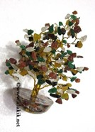 Picture of Multi Gemstone 300bds tree with orgone base