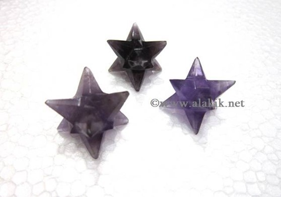 Picture of Amethyst 14point Merkaba star