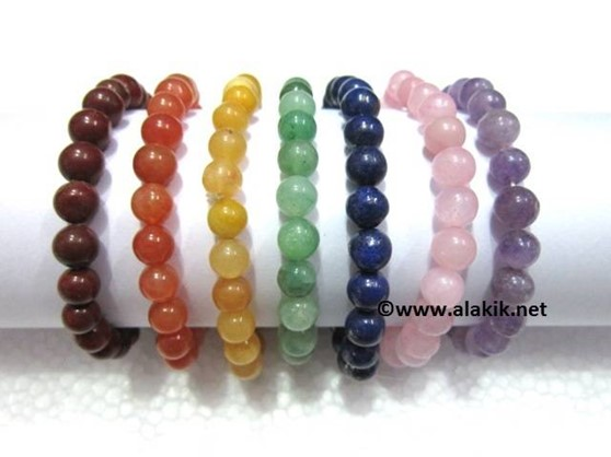 Picture of 7 Chakra Beaded Bracelet Set
