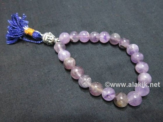 Picture of Amethyst Buddha Power Bracelet