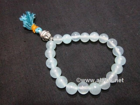 Picture of Aquamarine Buddha Power Bracelet