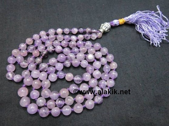 Picture of Amethyst Netted Buddha Jap Mala