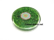 Picture of Green chips orgone Coasters