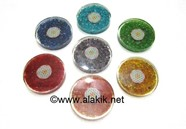 Picture of Chakra Orgone Coaster Set