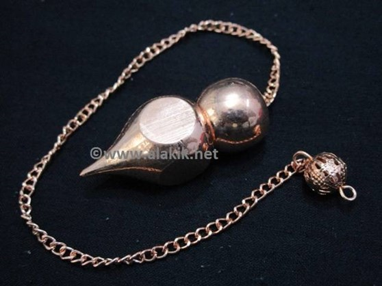 Picture of Ball and point 2pc  Bronze pendulum