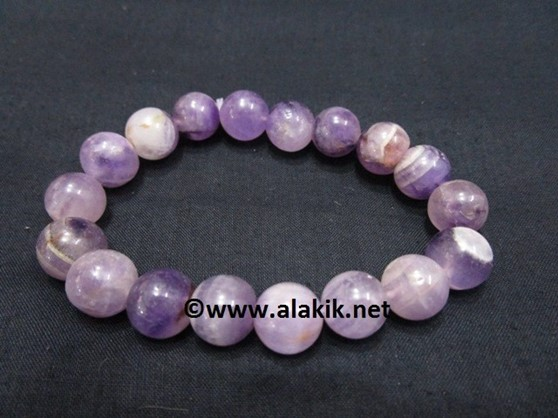 Picture of Amethyst 10mm Elastic Bracelet