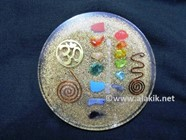 Picture of Chakra Orgone Coaster with Om