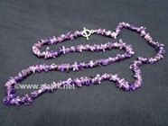 Picture of Amethyst Chips Necklace