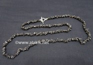 Picture of Black Tourmaline Chips Necklace