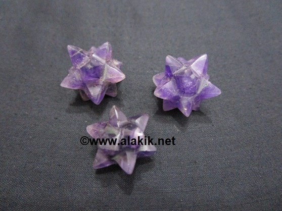 Picture of Amethyst 14 point Star