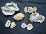 Picture of Natural Druzy Geodes Box Pairs