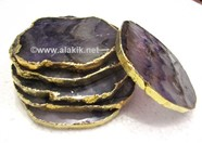 Picture of Amethyst Gold Coasters