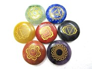 Picture of Laser Engraved Chakra Disc Set