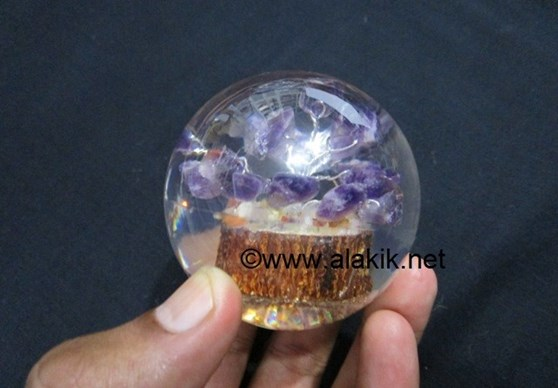 Picture of Amethyst Orgone Tree Ball