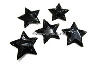Picture of Black Obsidian Flinted Star
