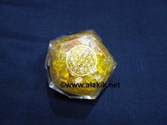 Picture of Citrine Orgone Dodecahedron