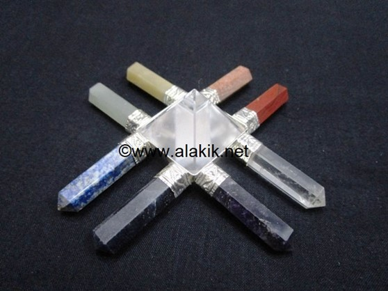 Picture of 8 Chakra New Age Generator with Crystal Pyramid