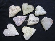 Picture of Druzy Hearts Raw Natural Cut